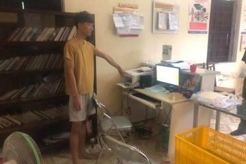 Bắt 'siêu trộm' 9X đột nhập hàng loạt công sở, trường học khắp Hà Nội