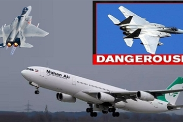 Căng thẳng leo thang, Iran 'trút giận' lên mô hình tàu sân bay Mỹ