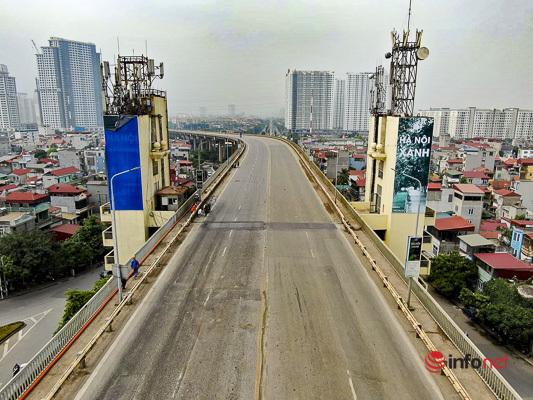 Sửa chữa mặt cầu Thăng Long trong 150 ngày, các phương tiện đi hướng nào?