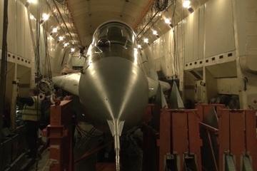 Xem Nga vận chuyển MiG-29 bằng máy bay vận tải cánh quạt lớn nhất thế giới