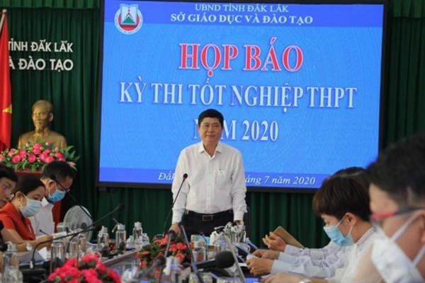 Đắk Lắk: Chia 4 nhóm thí sinh dự thi tốt nghiệp THPT năm 2020 ứng phó với dịch bệnh