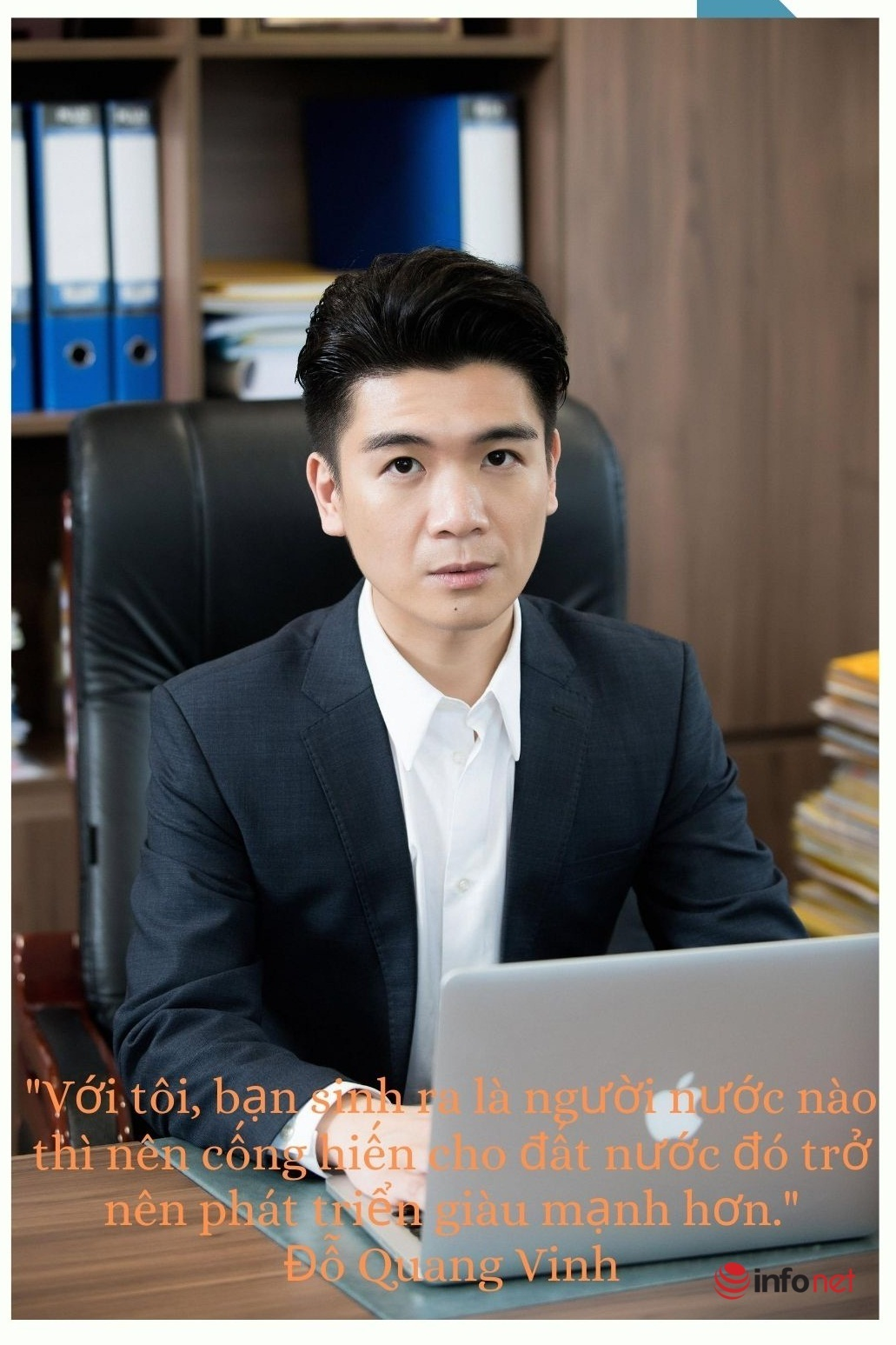 Đỗ Quang Vinh - từ rich kid bồi bàn đến ông chủ: Tôi không cần sự đặc cách nào cả
