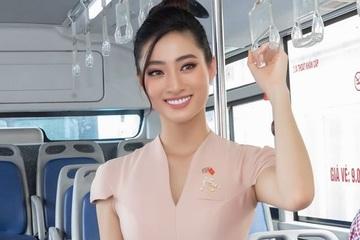 Hoa hậu Lương Thùy Linh truyền thông điệp phòng, chống mua bán người