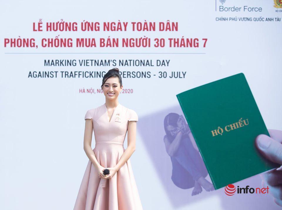 Ngày phòng chống mua bán người,Hoa hậu Lương Thùy Linh,Đại sứ Anh,Tuyên truyền,phòng chống buôn bán người