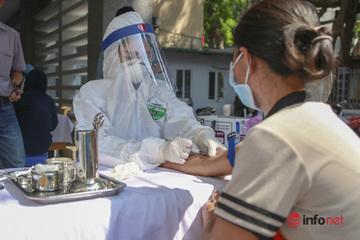 Hà Nội: Test nhanh Covid-19 cho người từ Đà Nẵng về, 3 ngày phải xong
