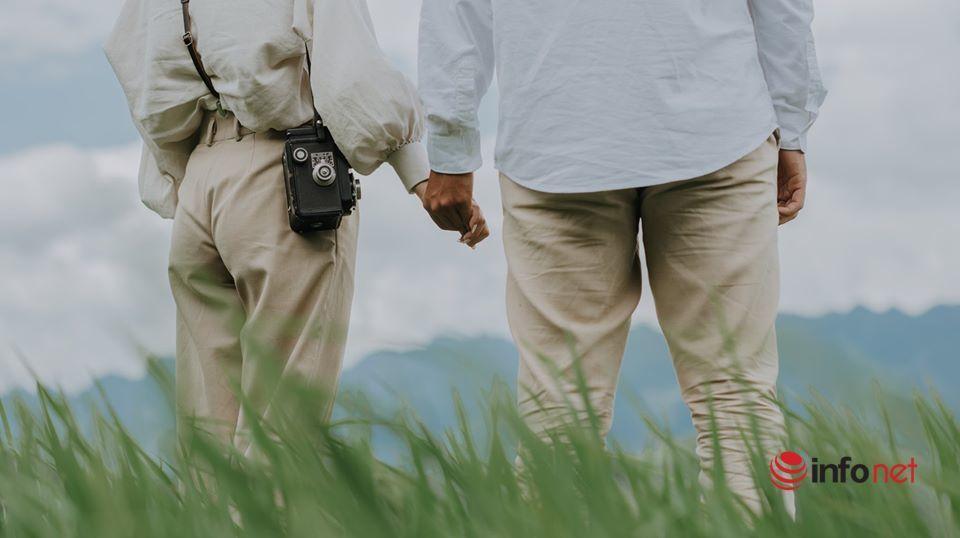 Ảnh cưới tuyệt đẹp trong khung cảnh cao nguyên đá Đồng Văn hùng vĩ