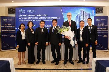 Novaland - Minor: Hợp tác phát triển và quản lý vận hành khách sạn 5 sao quốc tế AVANI Saigon