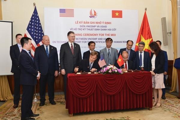 Mỹ - Việt Nam tăng cường xác định danh tính liệt sĩ vô danh