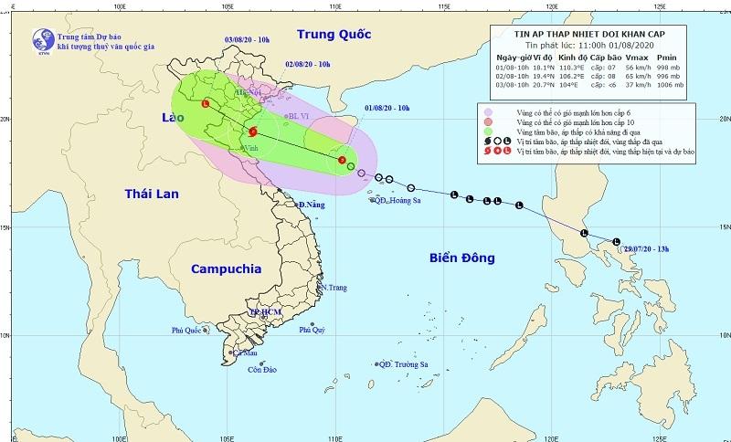 Áp thấp nhiệt đới mạnh lên thành bão trong 24h tới, gió giật cấp 10