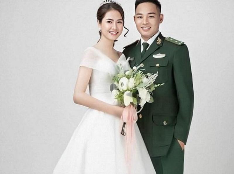 Yêu 8 năm, Thượng úy biên phòng 2 lần hoãn cưới vì Covid-19