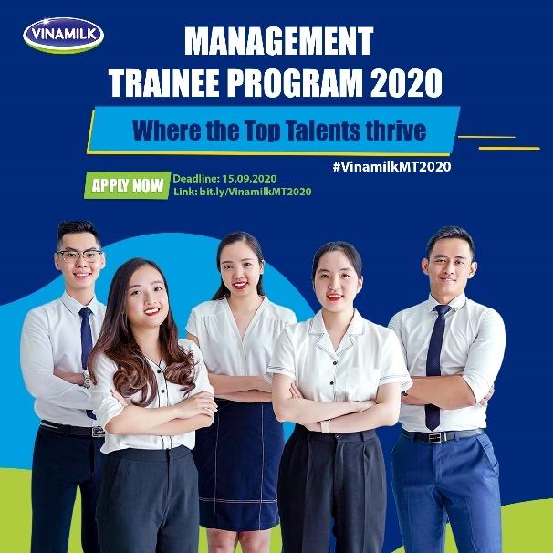 """Vinamilk chính thức khởi động chương trình """"Quản trị viên tập sự 2020"""""""