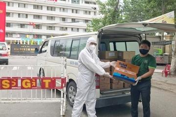 48.000 bịch sữa tươi tiệt trùng Dalatmilk tiếp sức Đà Nẵng chống dịch Covid-19