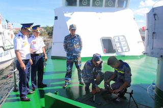 Bộ Tư lệnh Vùng Cảnh sát biển 4 tổ chức hội thao huấn luyện tàu