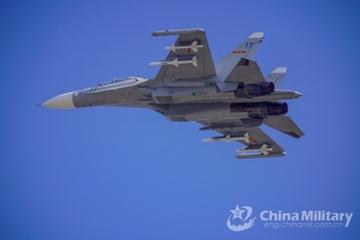 Tiêm kích Su-30 Trung Quốc tuần tra liên tục 10 tiếng ở Biển Đông