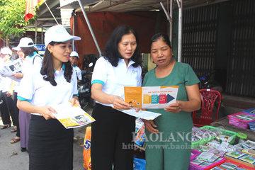 Phụ nữ Lạng Sơn tích cực tuyên truyền phòng, chống mua bán người