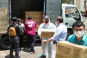Chung tay hỗ trợ bệnh viện tuyến đầu Đà Nẵng phòng, chống Covid-19