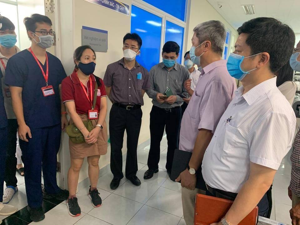 Thứ trưởng Bộ Y tế: Mấu chốt dịch ở Đà Nẵng là xét nghiệm, không phải tìm F0