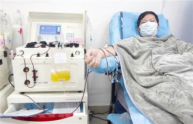 Kêu gọi bệnh nhân Covid-19 khỏi bệnh hiến huyết tương cứu bệnh nhân nặng