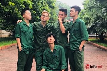 Ngẫu hứng cover ca khúc đúng chất sinh viên Nhạc viện trong kỳ học quân sự