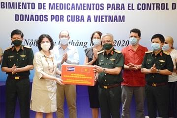 Việt Nam tiếp nhận thuốc phòng, chống dịch do Cuba tài trợ