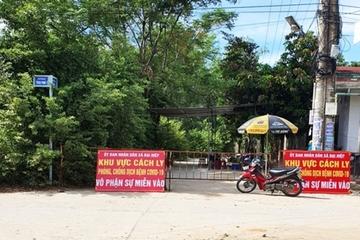 Quảng Nam: Phong tỏa tổ dân cư nơi bệnh nhân 672 mắc Covid-19