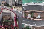 Kỳ lạ ngôi nhà nằm lọt thỏm giữa một cây cầu ở Trung Quốc