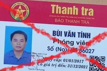 """Mua thẻ giả """"phóng viên báo Thanh Tra"""" hòng qua mặt CSGT"""
