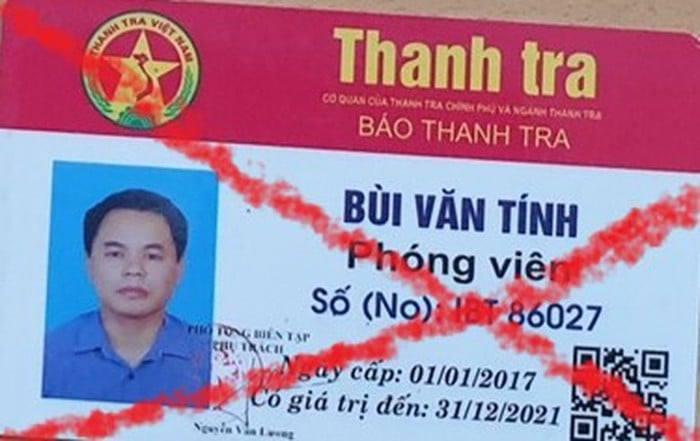 Mua thẻ giả 'phóng viên báo Thanh Tra' hòng qua mặt CSGT
