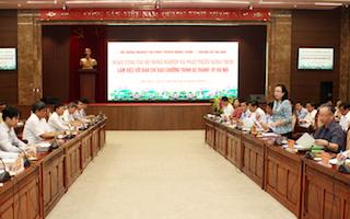 Đến năm 2025: 100% xã của Hà Nội đạt chuẩn nông thôn mới