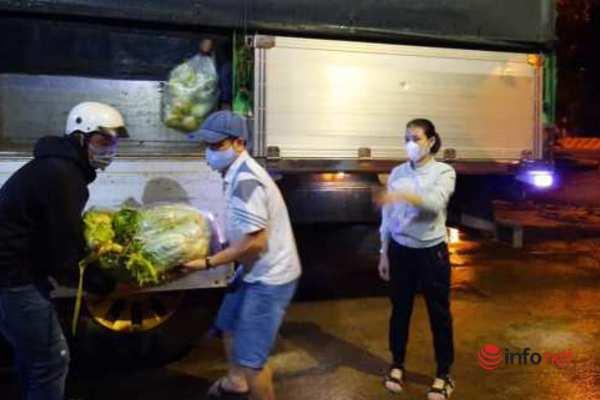 Người dân Đắk Lắk gửi hàng tấn gạo, rau quả tiếp sức Đà Nẵng chống dịch