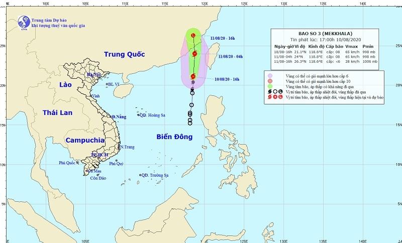 Dự báo thời tiết ngày 11/8: Bắc Bộ và Trung Bộ ngày nắng nóng trên 38 độ C, đêm mưa rải rác