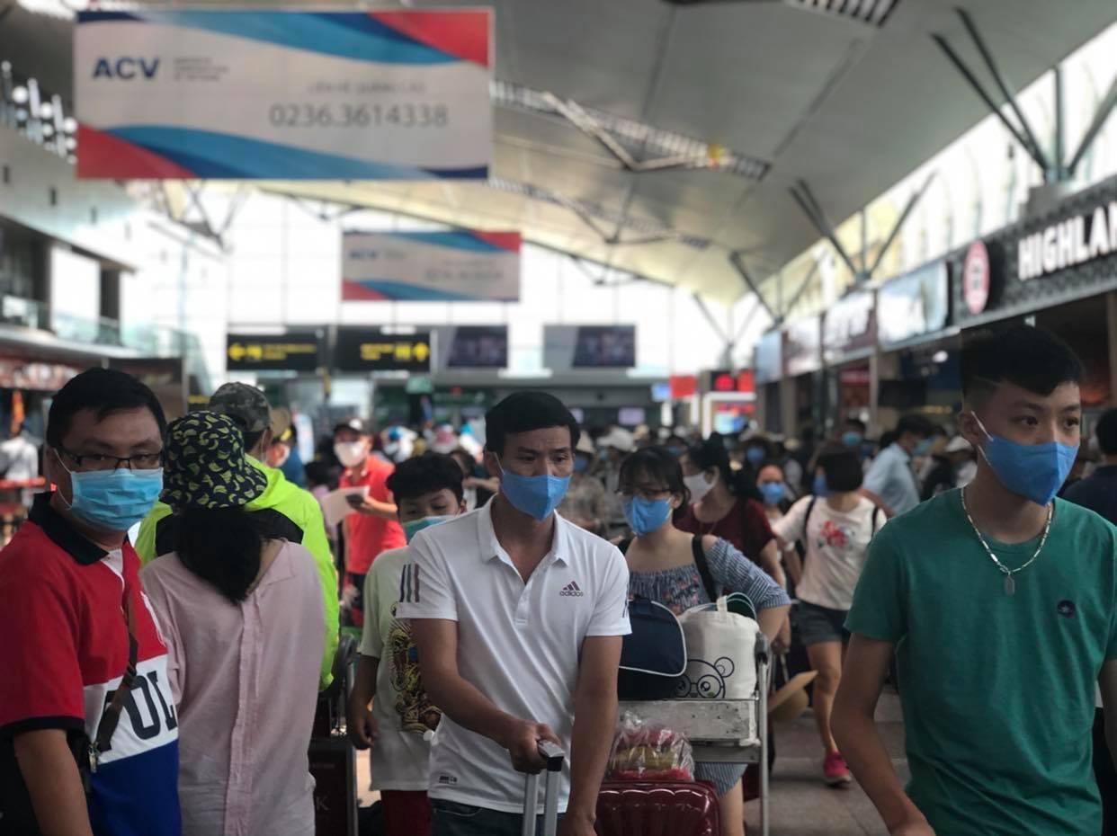 Từ ngày 12/8, hơn 1.400 khách mắc kẹt ở Đà Nẵng được trở về nhà