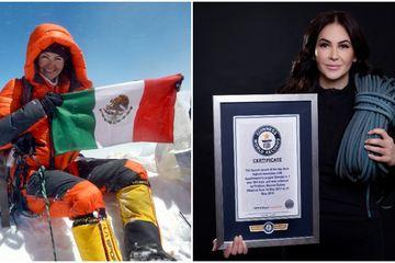 Chinh phục 3 ngọn núi cao nhất thế giới, người phụ nữ Mexico lập kỷ lục Guiness