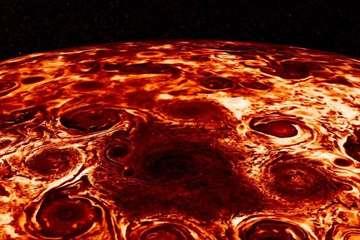 """Sự thật về """"miếng pizza khổng lồ"""" sao Mộc"""