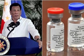 Tổng thống Philippines đã ấn định ngày tiêm vắc-xin Covid-19 của Nga?