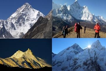 Top 10 ngọn núi cao nhất thế giới đã được chinh phục vào thời gian nào