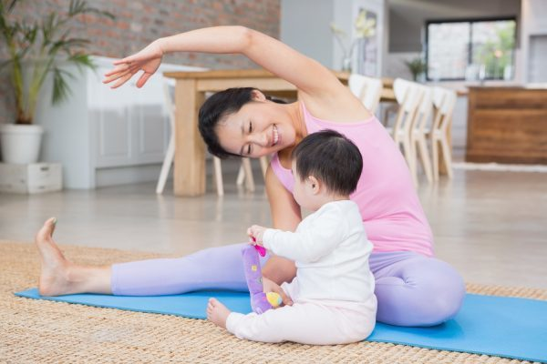 Sau sinh hai tuần mẹ trẻ lao đi tập giảm cân và cái kết không ngờ