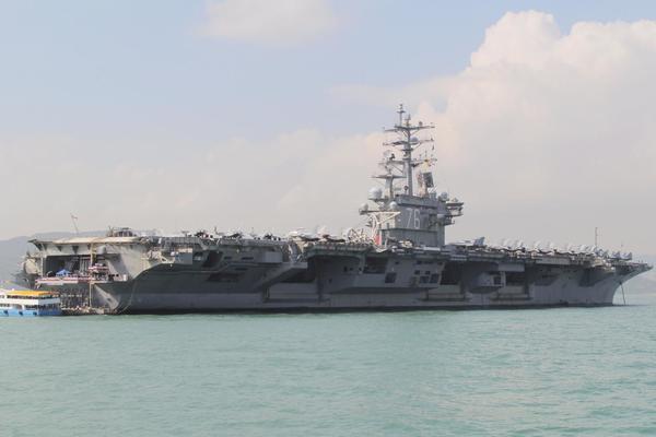 Tàu sân bay Mỹ trở lại Biển Đông tập trận