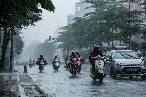 Tin mưa lớn ở Bắc Bộ và dự báo thời tiết ngày 16/8