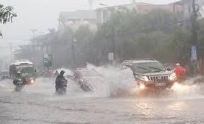 Tin mưa lớn ở Bắc Bộ và dự báo thời tiết ngày mai 16/8