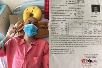 Niềm vui của chàng trai ung thư máu học giỏi 2 lần lỡ thi tốt nghiệp