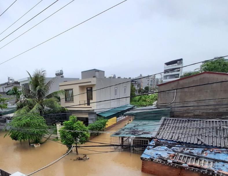 mưa lớn,ngập,Hạ Long,Quảng Ninh,Điện Biên,Nậm Pồ,lũ quét,sạt,lở đất