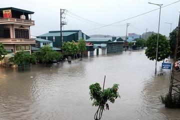 Bắc Bộ mưa lớn, Hạ Long ngập nặng, Điện Biên sạt lở nghiêm trọng
