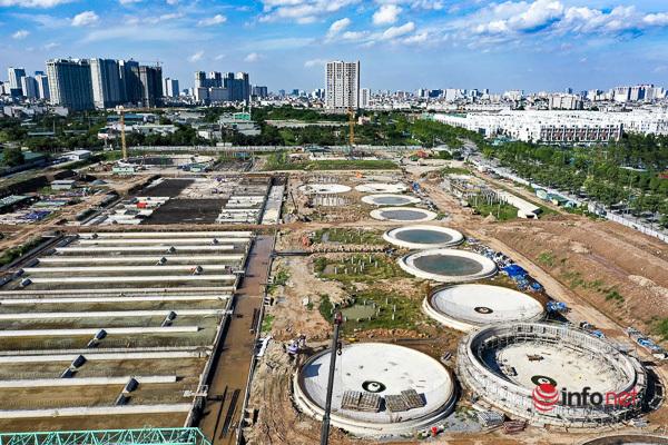 """Toàn cảnh nhà máy xử lý nước thải giúp """"hồi sinh"""" sông Tô Lịch"""
