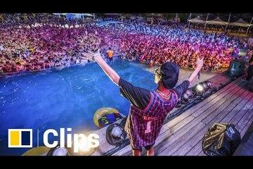 Hàng ngàn người tụ tập vui chơi ở nơi từng là tâm dịch Covid-19 Trung Quốc