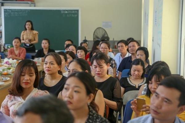 Doanh nghiệp đến tuyển dụng tại lớp dạy nghề cho người thất nghiệp