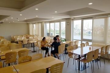 Mô hình nhà hàng, bếp ăn tập thể treo biển đảm bảo ATTP
