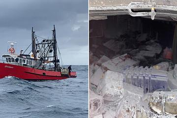 Cảnh sát Australia truy bắt tàu cá chở 1 tấn ma túy như phim hành động