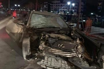Lái xe Lexus gây tai nạn tông chết nữ cán bộ công an rồi bỏ chạy