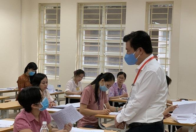 Chấm thi tốt nghiệp 2020: Nhiều tỉnh có thí sinh đạt điểm 9 môn Văn